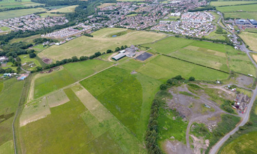 Lady Brae Aerial Image